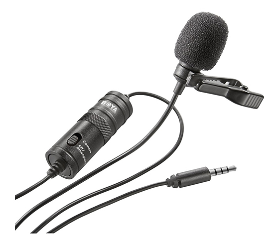 Boya Lavalier Microphone Black (BY-M1)
