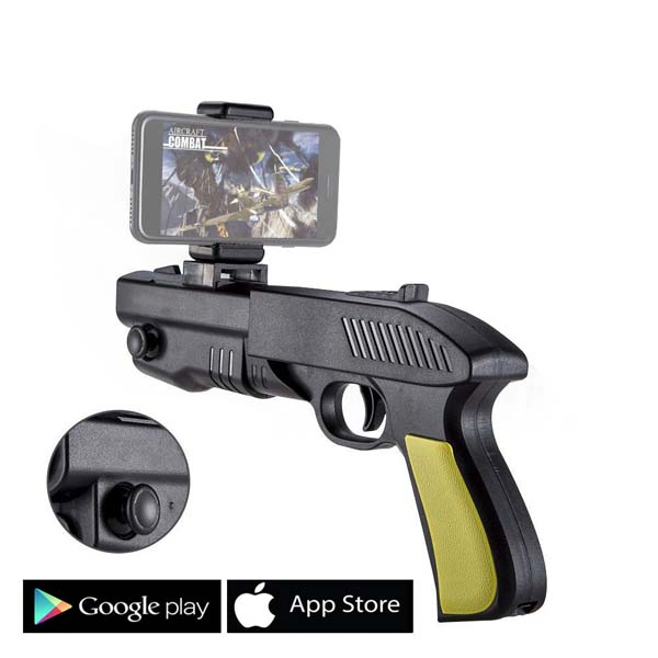 AR Gun Joystick Feel Real Play Games Functions