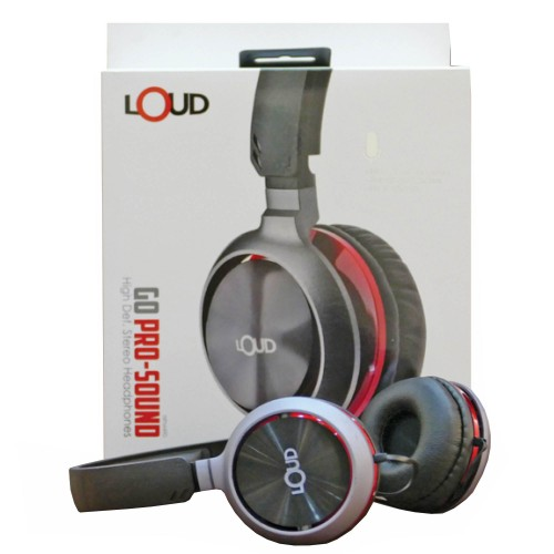 Loud HPM 490 Go Pro Sound High Def Stereo Headphones