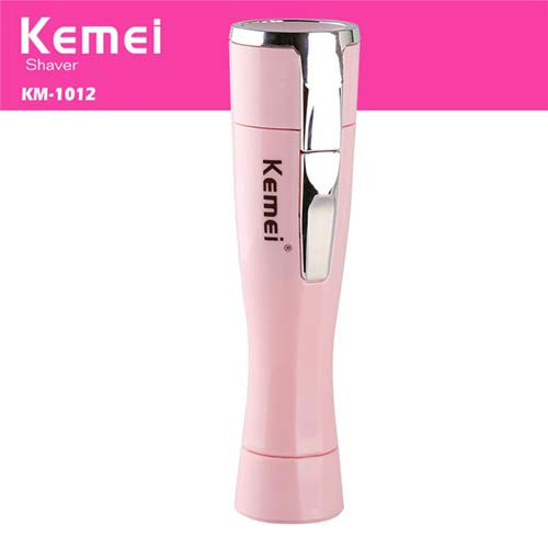 Kemei KM-1012 Mini Lady Epilator Electric Shaver Women Hair Remover Portable Depilatory Female Razor Shaver