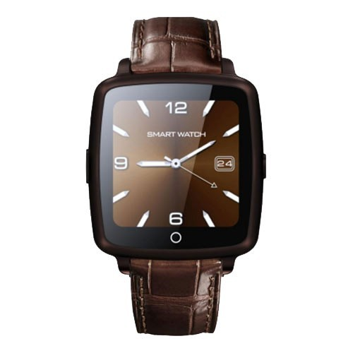 Getiit Mate Smart Watch Brown With Camera, Bluetooth & Sim Card