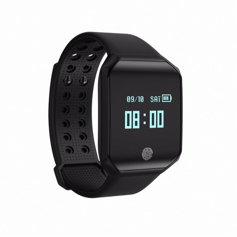 Z66 Bluetooth Smart Watch Heart Rate Blood Pressure Monitor Fitness Tracker Waterproof Sport Wristwatch for IOS Android
