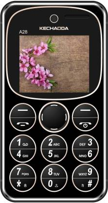 KECHAODA A28 Dual SIM, Bluetooth Credit Card Size Phone