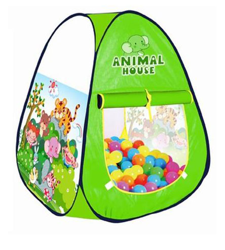 Forest Animal Play Tent