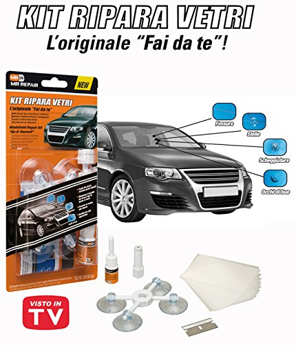MR REPAIR  Windscreen Repair Kit