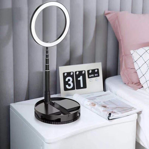 G1 Folding Fill Light Desk Stand Dual Use Disk Storage Type live Beauty