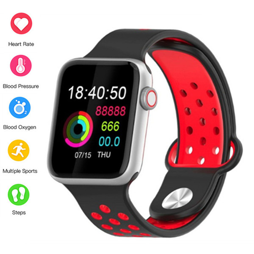 Bluetooth Smart Watche IP67 Waterproof Heart Rate Blood Pressure Smartwatch for Android iPhone Pk Iwo M33  Watch