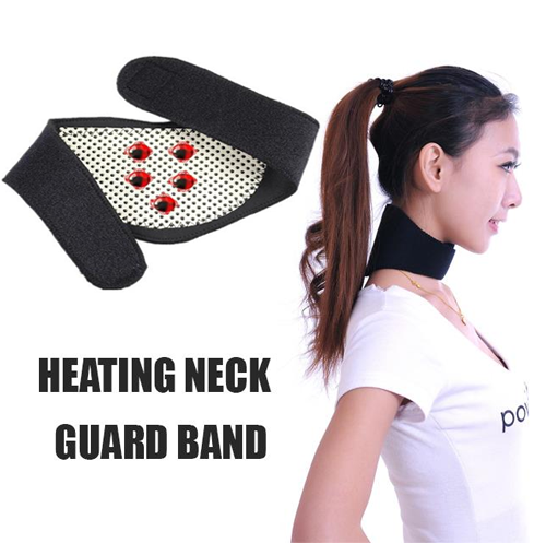 Self Heating Neck Guard Band For Pain Relief