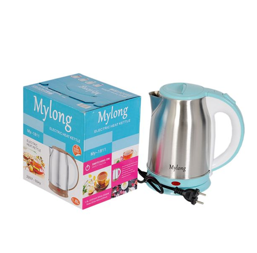 Mylong Stainless Steel Electric Kettle 1.8 liter 2000 W
