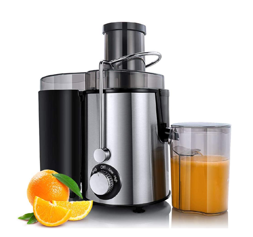 Haeger HG-2911 Juicer Machines, Juice Extractor for Whole Fruit and Vegetables, Overheat overload protection, Anti-drip and